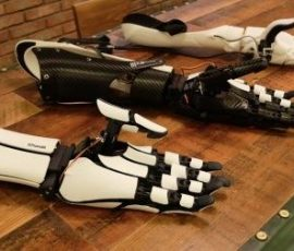 This exquisite, 3D-printed robotic arm is changing the way we think about prosthetics